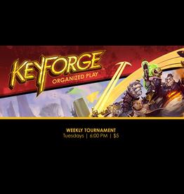 Keyforge Tournament Tues 8/17  6:00pm
