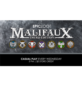 Malifaux Casual Play - Wed 8/18 - 5PM