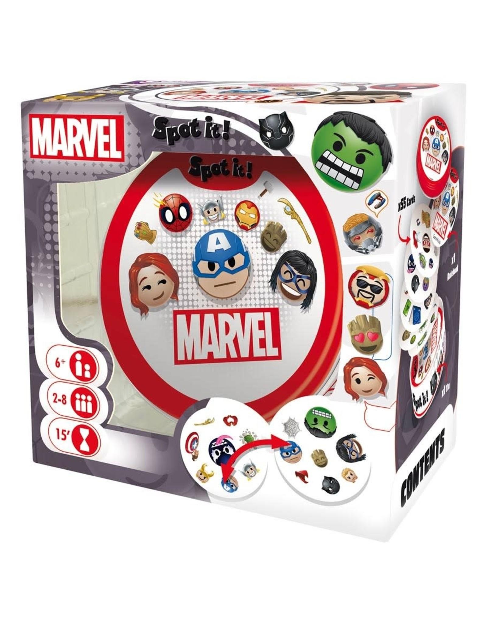 Asmodee Spot It! Marvel Emojis