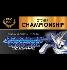 Digimon Store Championship Sun 9/26 12:30 PM