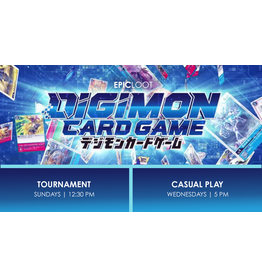 Digimon Tournament Sun 10/3 12:30 PM