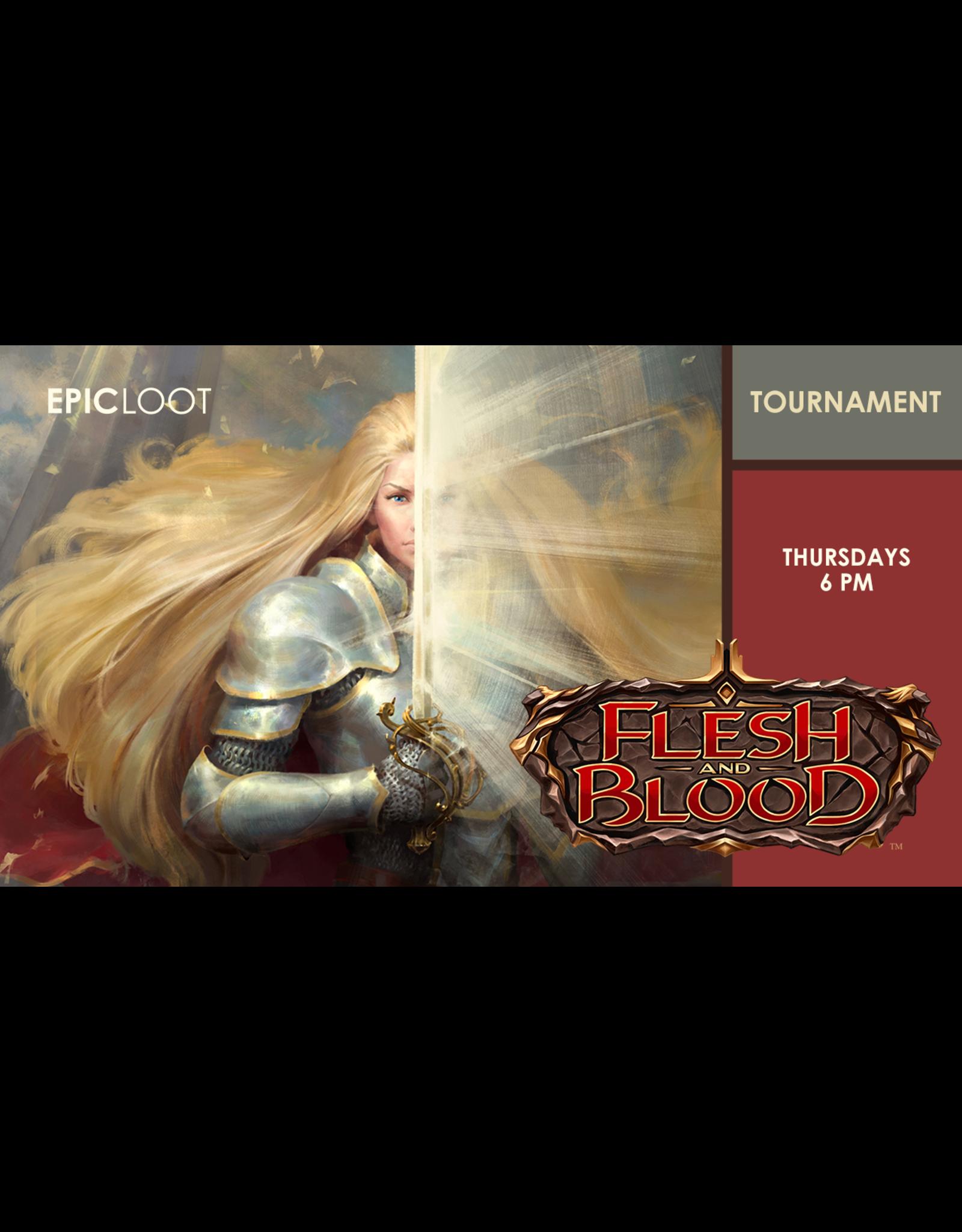 Flesh and Blood Tournament Thu 9/30 6:00pm