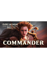 Commander Casual Play - Mon 10/11 - 5PM