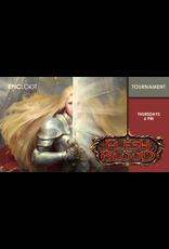 Flesh and Blood Blitz Tournament Thu 10/14 6:00pm