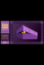 Casual Board Game Night Thu 10/14 - 5:00pm