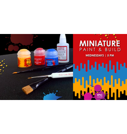 Casual Paint & Build - Wed 10/13 - 5:00pm