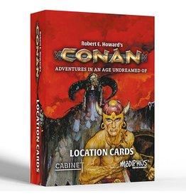 Modiphius Conan RPG: Location Cards