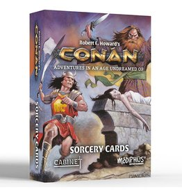 Modiphius Conan RPG: Sorcery Cards