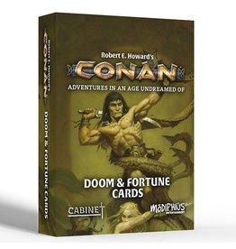 Modiphius Conan RPG: Doom & Fortune Cards