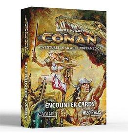 Modiphius Conan RPG: Encounter Cards