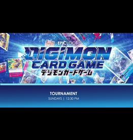 Digimon Tournament Sun 10/24 12:30 PM