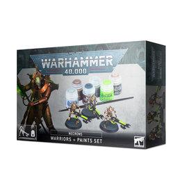 Games Workshop Warhammer 40K: Necrons Warriors + Paint Set