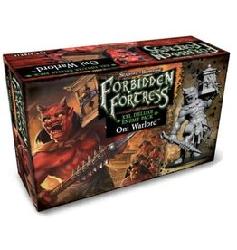 Flying Frog Productions Shadows Of Brimstone: Forbidden Fortress Oni Warlord XXL Deluxe Enemy Pack