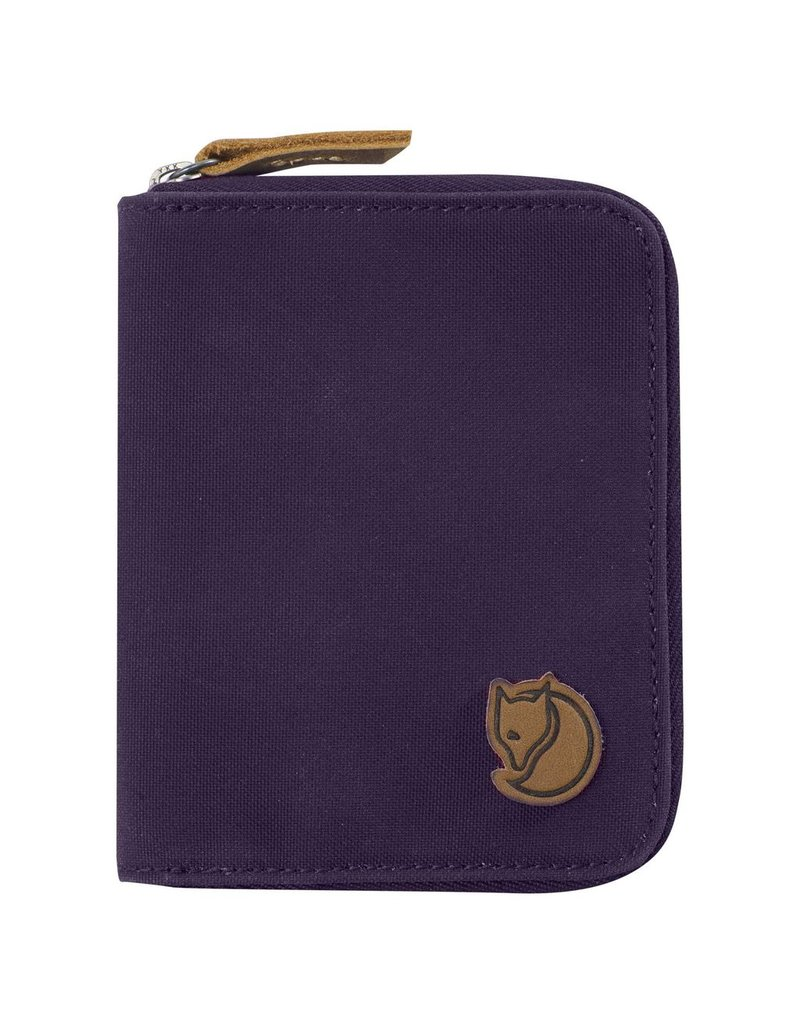 FJALLRAVEN FJALLRAVEN ZIP WALLET ALPINE PURPLE