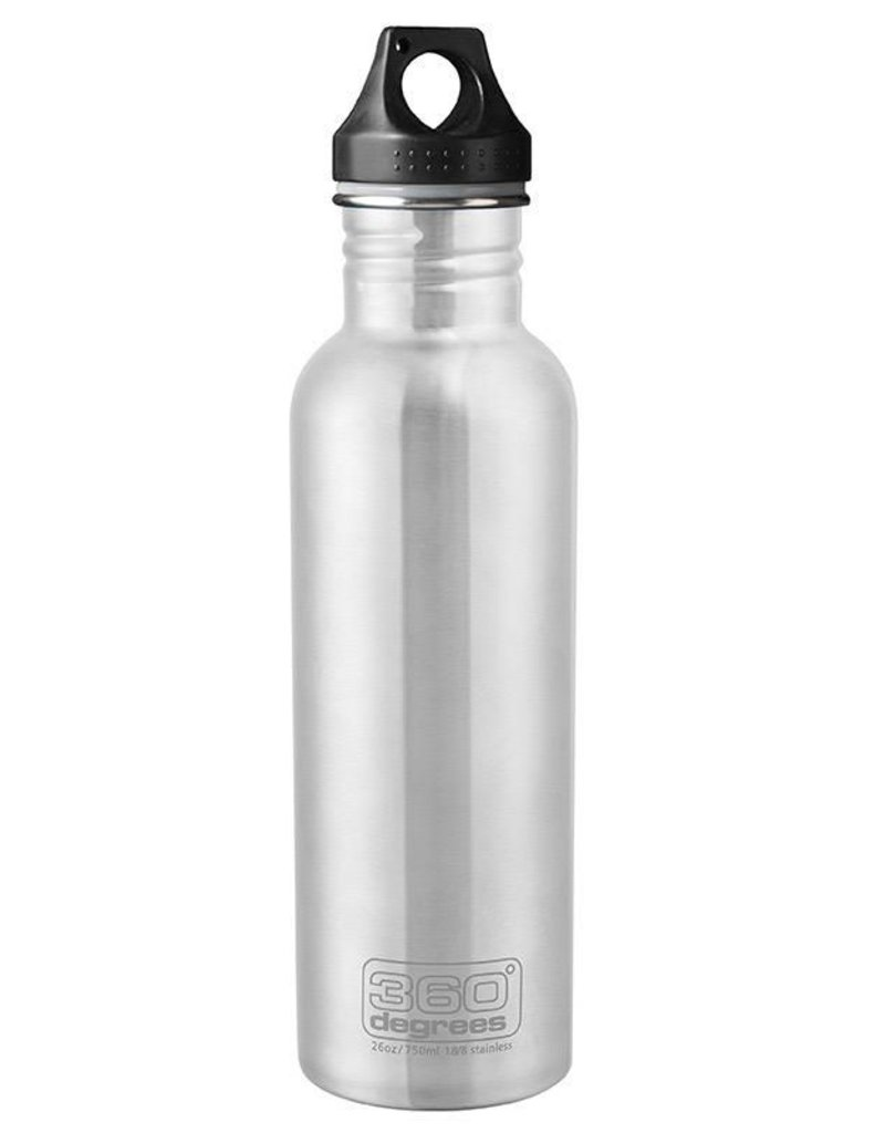 360 DEGREES 360 DEG SS BOTTLE 750ML