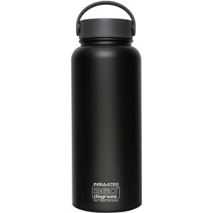 360 DEGREES 360 DEGREES WIDE MOUTH INSULATED STAINLESS STEEL 1L BOTTLE