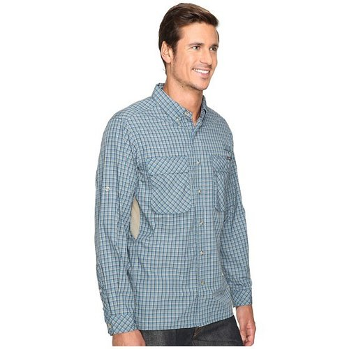 EXOFFICIO EXOFFICIO AIR STRIP MICRO PLAID L/S SHIRT MEN'S