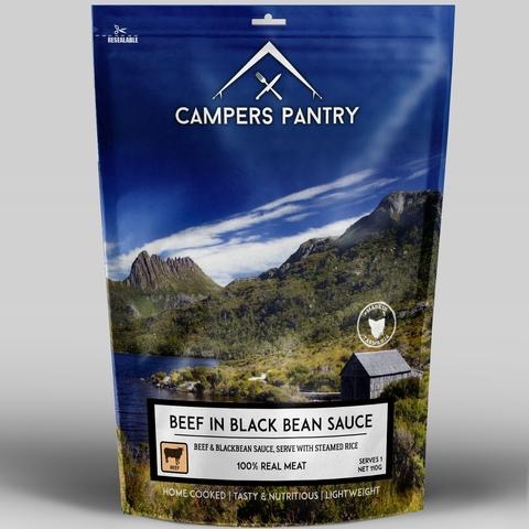 CAMPERS PANTRY CAMPERS PANTRY BEEF AND BLACKBEAN - SINGLE SERVE