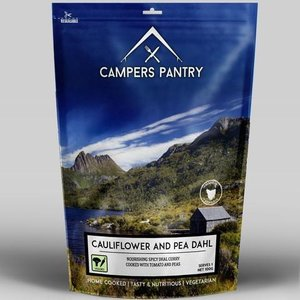 CAMPERS PANTRY CAMPERS PANTRY CAULIFLOWER PEA DAHL  - SINGLE SERVE