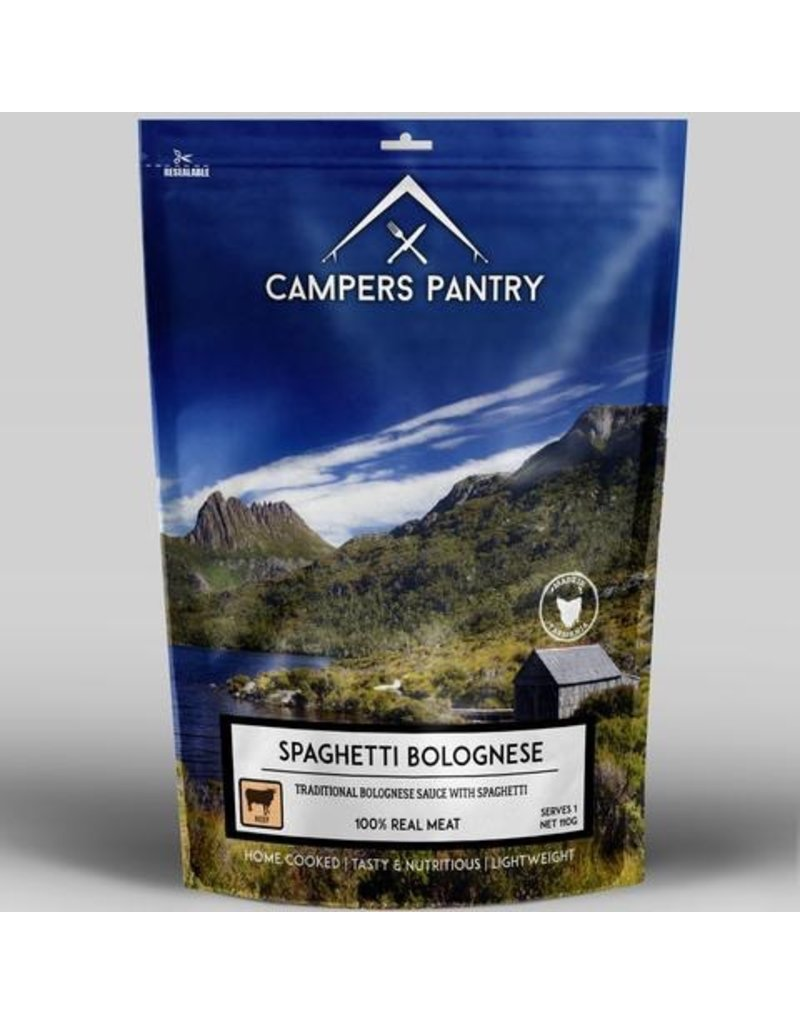 CAMPERS PANTRY CAMPERS PANTRY SPAGHETTI BOLOGNAISE - SINGLE SERVE