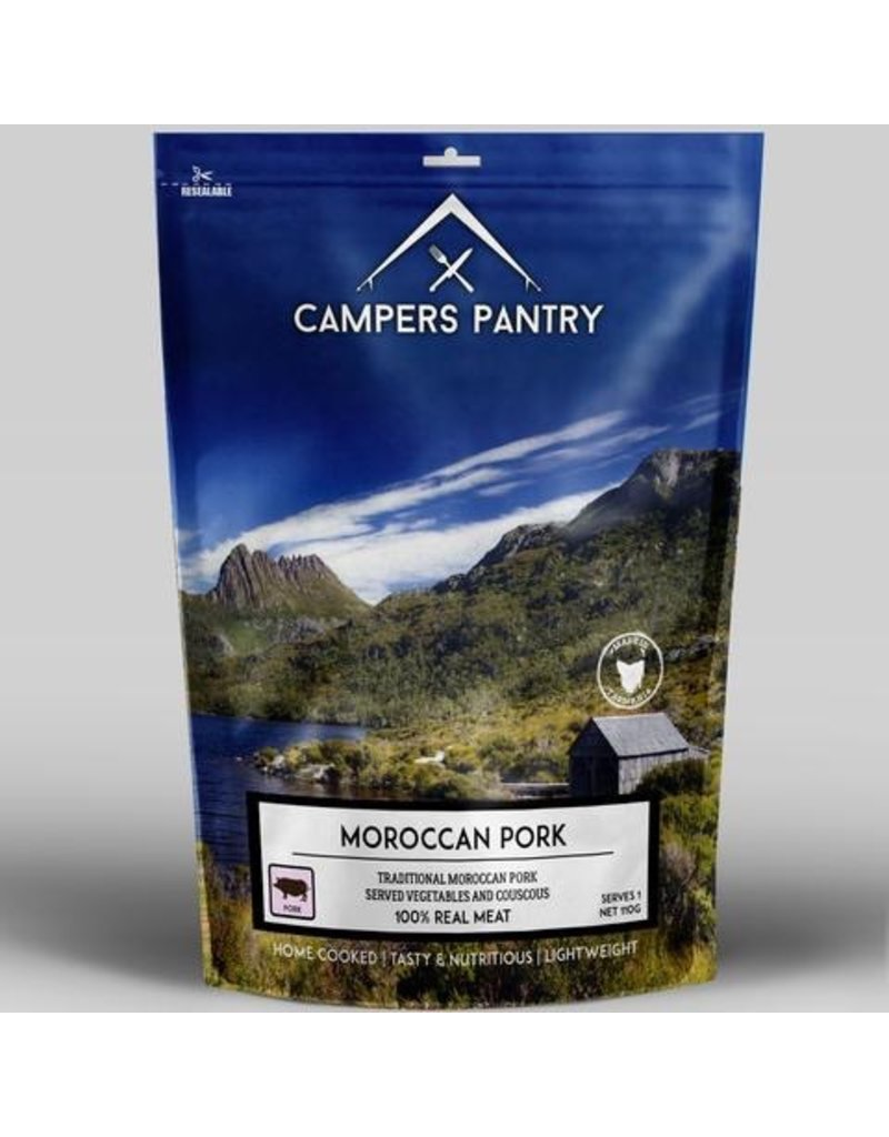 CAMPERS PANTRY CAMPERS PANTRY MOROCCAN PORK - SINGLE SERVE