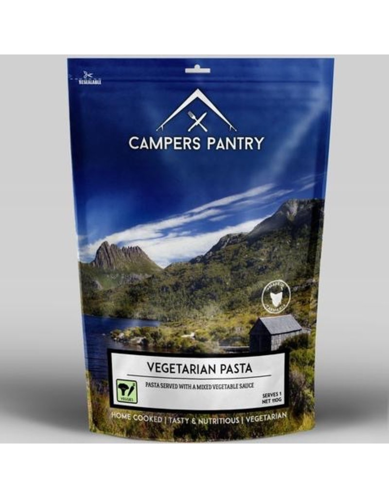 CAMPERS PANTRY CAMPERS PANTRY VEGETARIAN PASTA - SINGLE SERVE