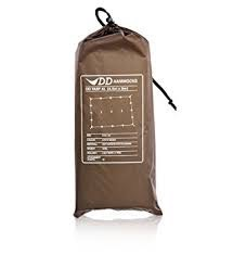 DD HAMMOCKS DD Tarp XL-Coyote Brown