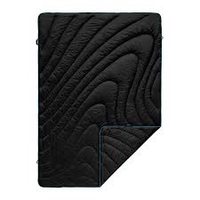 RUMPL- THE ORGINIAL PUFFY BLANKET-THROW-BLACK