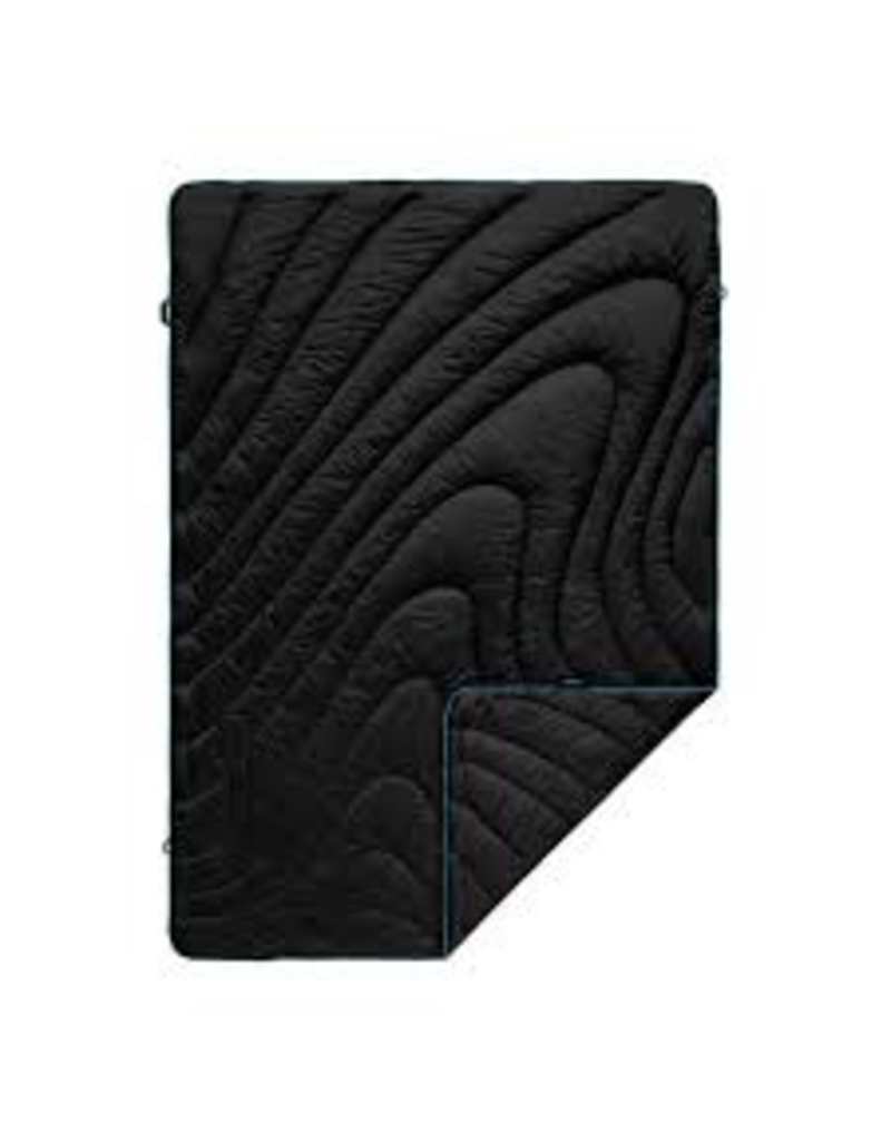 RUMPL RUMPL- THE ORGINIAL PUFFY BLANKET-THROW-BLACK