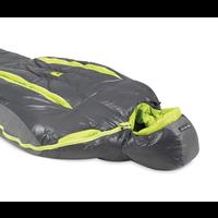 NEMO KAYU 15- MEN'S DOWN MUMMY SLEEPING BAG—LONG-GRAPHITE,-9C, 2019