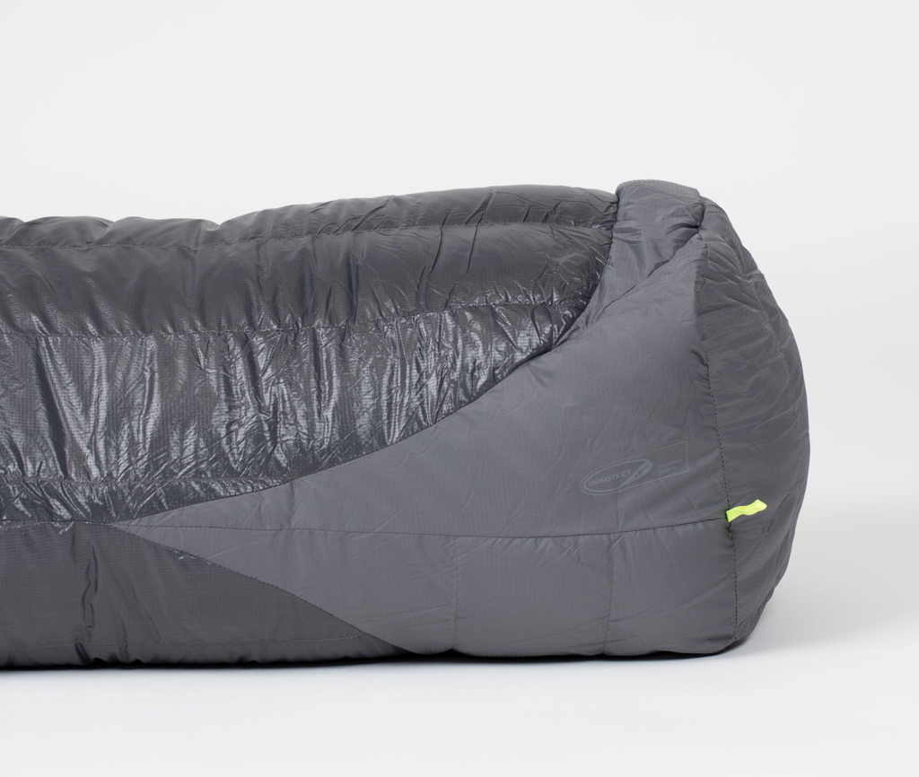 NEMO NEMO KAYU 15- MEN'S DOWN MUMMY SLEEPING BAG—LONG-GRAPHITE,-9C, 2019