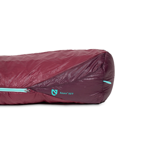 NEMO NEMO AZURA 20-WOMEN'S SYNTHETIC MUMMY SLEEPING BAG-MALBEC-REG, -7C-2019