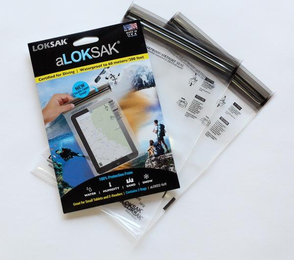 ALOKSAK ALOKSAK WATEPROOF BAG MULTI PACKS SIZE 6X9 (2PACK)