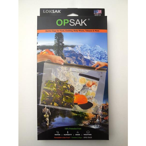 ALOKSAK ALOKSAK-OPSAK-ODOURPROOF/WATEPROOF BAG MULTI PACKS SIZE 28X20 (2PACK)