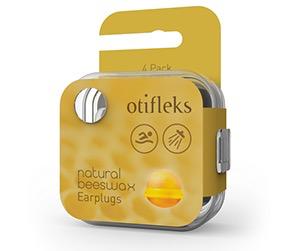 OTIFLEKS OTIFLEKS BEESWAX EAR PLUGS 4 PAIR, O/S