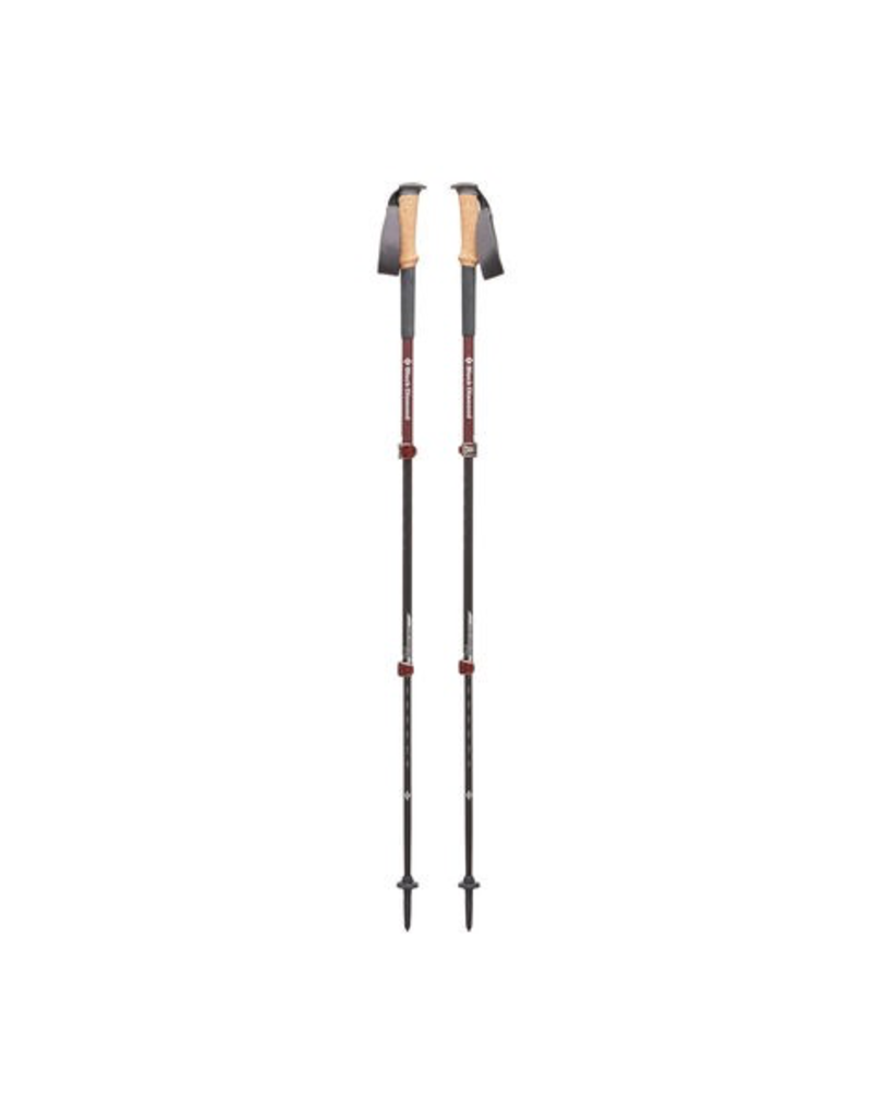 BLACK DIAMOND BLACK DIAMOND WOMEN'S ALPINE CARBON CORK TREKKING POLES, 2018