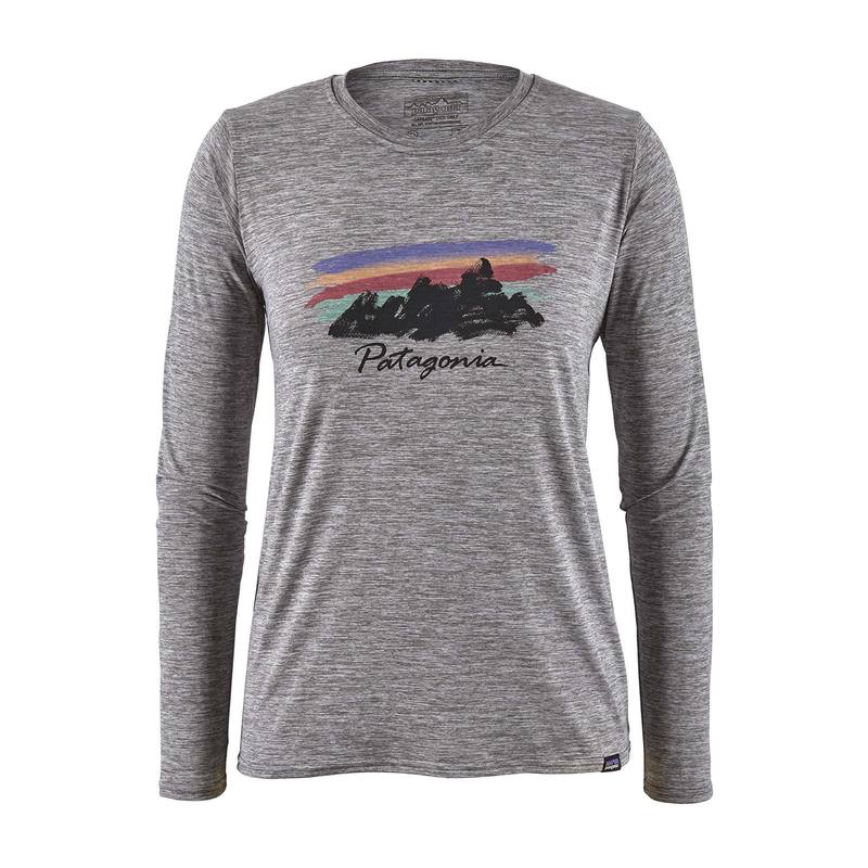 PATAGONIA PATAGONIA L/S CAPILENE COOL DAILY GRAPHIC SHIRT, WOMEN'S