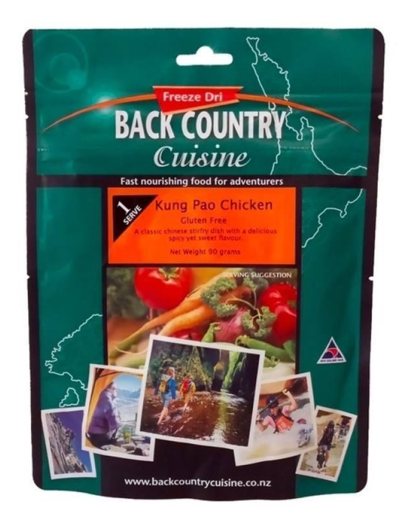 BACKCOUNTRY BACKCOUNTRY KUNG PAO CHICKEN (SINGLE SERVE)