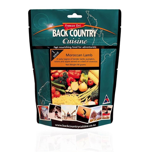 BACKCOUNTRY BACKCOUNTRY MOROCCAN LAMB SINGLE SERVE