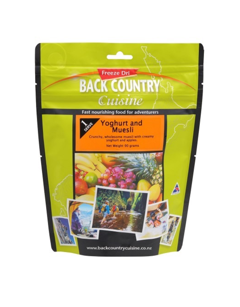 BACKCOUNTRY BACKCOUNTRY YOGHURT & MUESLI (SINGLE SERVE)