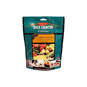 BACKCOUNTRY BACKCOUNTRY SPAGHETTI BOLOGNAISE SINGLE SERVE