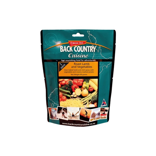 BACKCOUNTRY BACKCOUNTRY ROST LAMB AND VEGETABLESS  (SINGLE SERVE)
