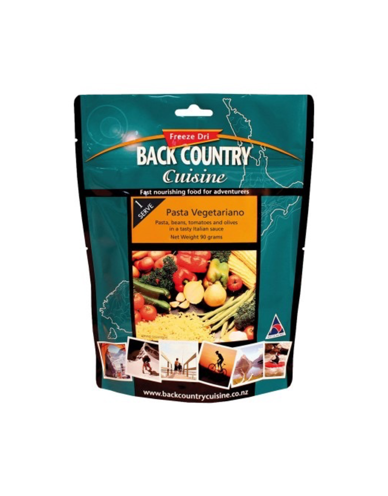 BACKCOUNTRY BACKCOUNTRY PASTA VEGETARIANO (SINGLE SERVE)
