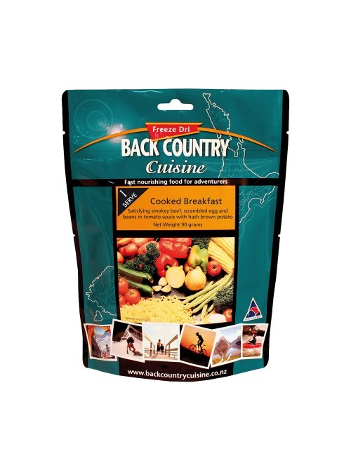 BACKCOUNTRY BACKCOUNTRY COOKED BREAKFAST SINGLE SERVE