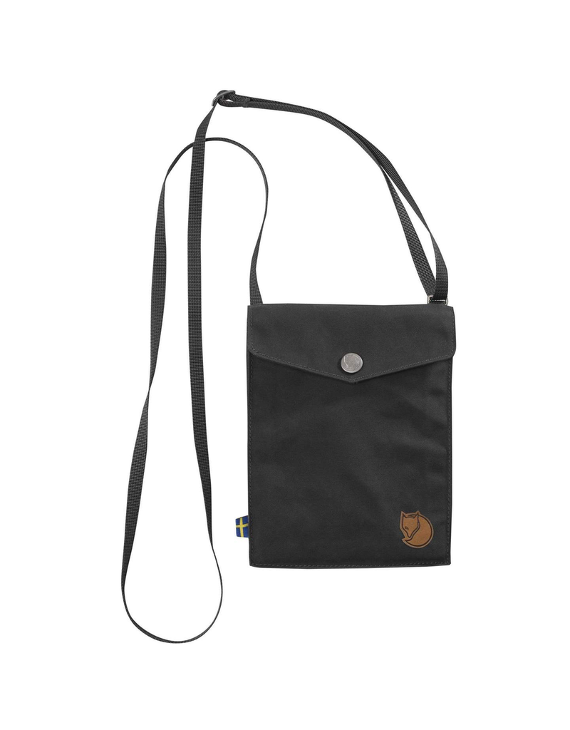 FJALLRAVEN FJALLRAVEN POCKET, DARK GREY
