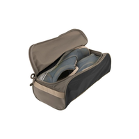 SEA TO SUMMIT TRAVELLING LIGHT SHOE BAG, SMALL, BLACK