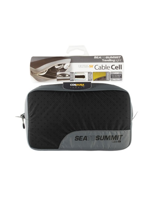SEA TO SUMMIT SEA TO SUMMIT TRAVELLING LIGHT CABLE CELL, LARGE, BLACK