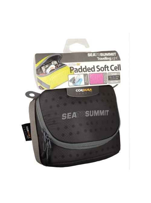 SEA TO SUMMIT SEA TO SUMMIT TRAVELLING LIGHT SOFT CELL, SMALL, BLACK