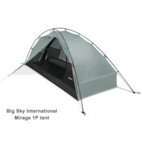 BIG SKY MIRAGE 1 PERSON HYBRID TENT
