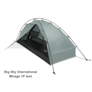 BIG SKY BIG SKY MIRAGE 1 PERSON HYBRID TENT